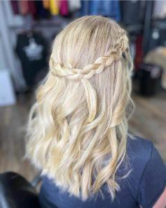 wedding hair 605 styling co salon sioux falls
