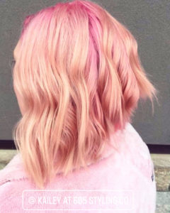 pink hair color sioux falls