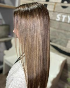 brunette hair with highlights sioux falls