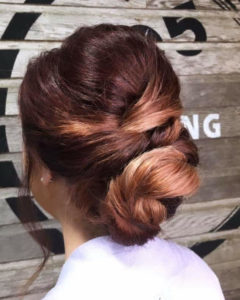 twisted prom wedding updo sioux falls