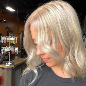 platinum blonde by Madi 605 styling co sioux falls sd