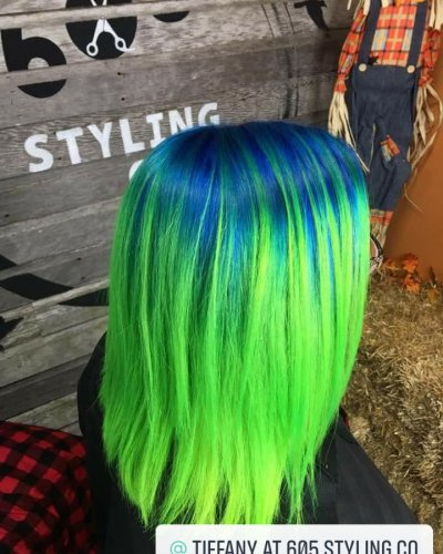 mermaid hair color 605 styling co sioux falls