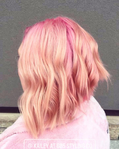 pink hair color 605 styling co sioux falls